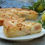 Итальянский грушевый пирог с фундуком