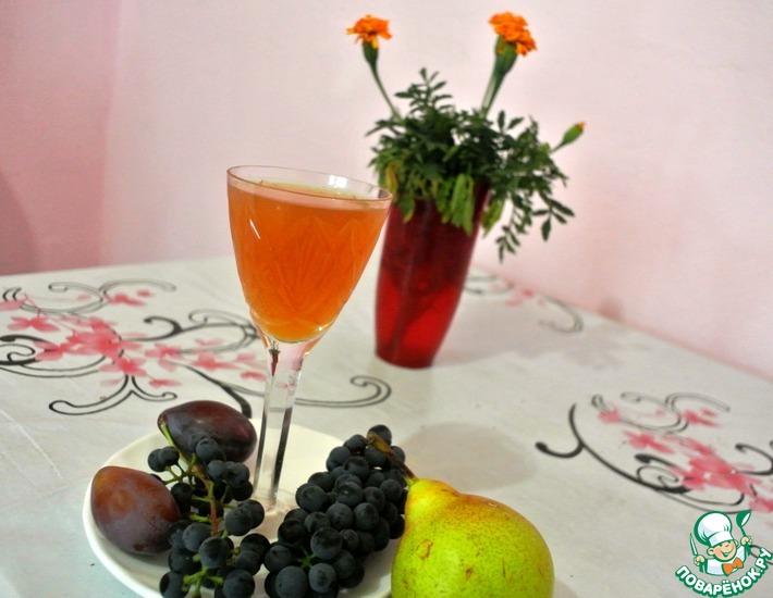 Рецепт: Домашнее вино из абрикосов