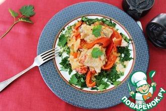 Рецепт: Курица соте по-венгерски