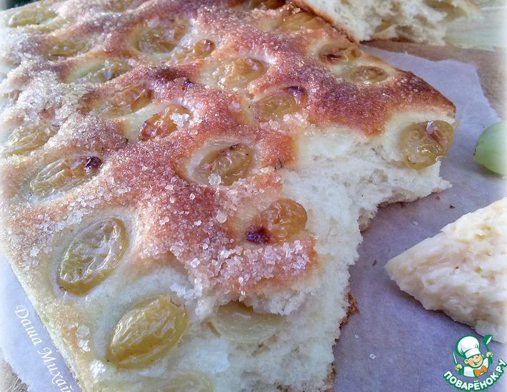 Рецепт: Виноградный хлеб