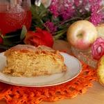 Яблочный пирог по рецепту немецких бабушек