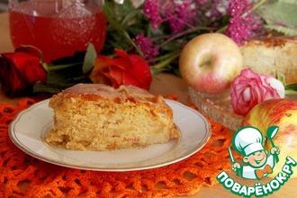 Рецепт: Яблочный пирог по рецепту немецких бабушек