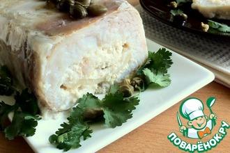 Рецепт: Рыбный террин с морепродуктами