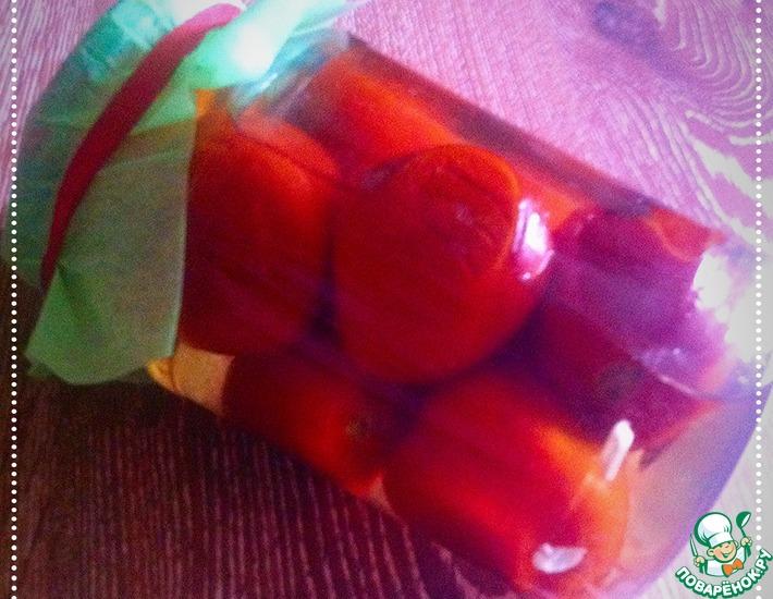 Рецепт: Жареные помидоры