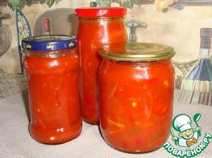 Рецепт Лечо-аджика из острого перца