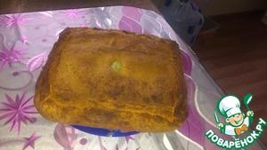 Рецепт Слоено-дрожжевой пирог с мясом и картошкой