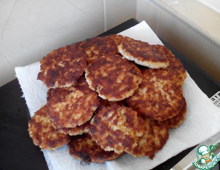 Рецепт: Котлеты из консервов Сардины в масле