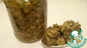 Рецепт Баклажаны на зиму как грибы