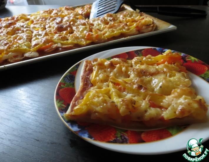 Рецепт: Пицца По-могилёвски