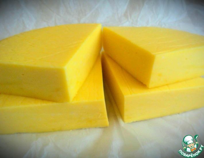 Рецепт: Сыр по-домашнему