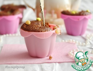Рецепт Быстрые шоколадно-банановые кексы