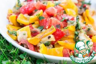 Рецепт: Салат из овощей по мотивам хороваца