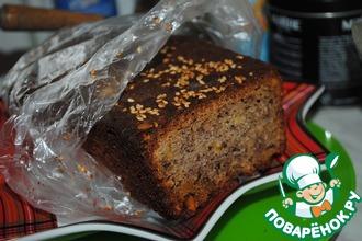 Рецепт: Цельнозерновой хлеб с орехами и семечками