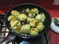 Скорые маринованные шампиньоны с обжаренным картофелем ингредиенты