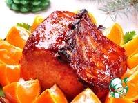 Запеченная свиная корейка в мандариновом соусе ингредиенты