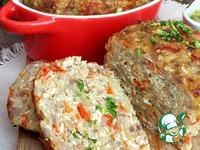 Мясной хлеб с пшеном и паприкой ингредиенты