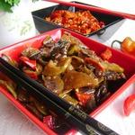 Рагу из говядины, овощей и грибов