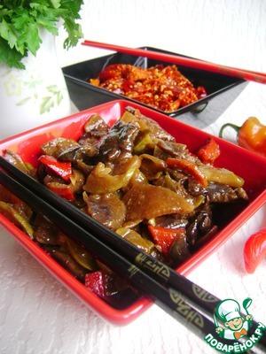 Рецепт Рагу из говядины, овощей и грибов