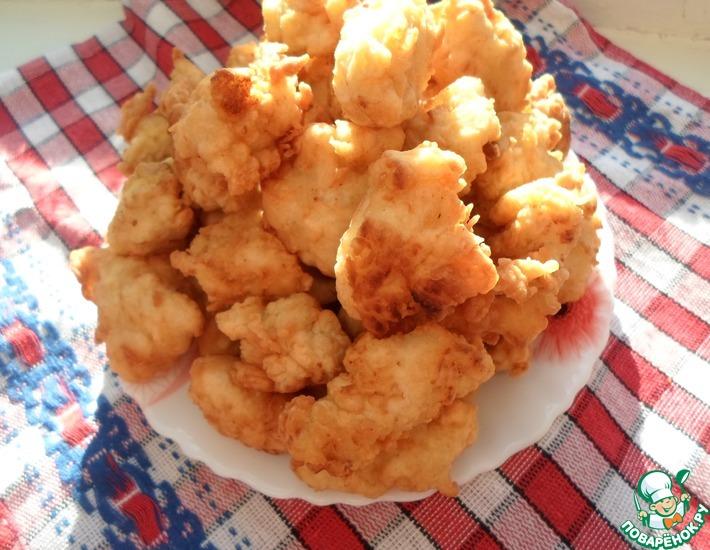 Рецепт: Куриный попкорн