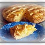 Айвовый песочный пирог