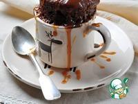 Шоколадный кекс в СВЧ за 2 минуты ингредиенты