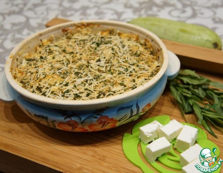 Рецепт: Гратен из кабачков