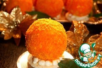 Рецепт: Пирожное Золотой апельсин