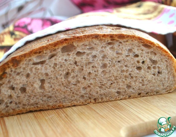 Рецепт: Хлеб с сыром и орехами