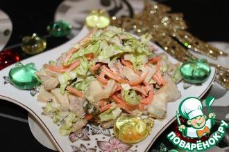 Рецепт: Салат Новогодняя сказка