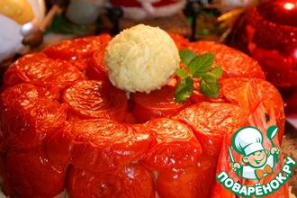Рецепт: Пирог без теста Подарок от Деда Мороза