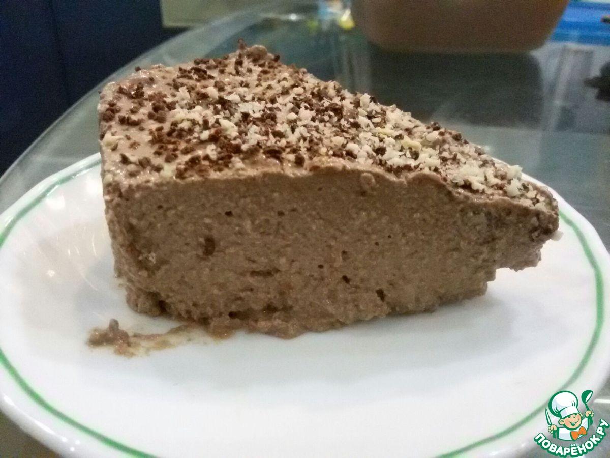 Диетический творожно-шоколадный десерт