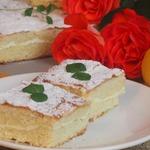 Лимонно-творожный пирог