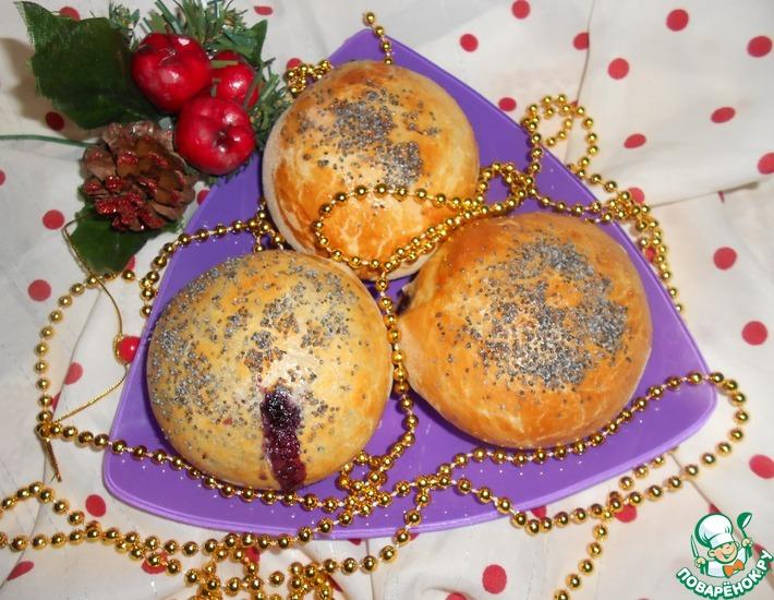 Рецепт: Ванильно-маковые булочки