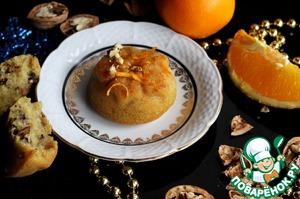Рецепт Постный апельсиновый манник