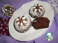 Кексы Снежинки ингредиенты