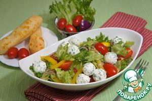 Рецепт Салат с фетой по-гречески