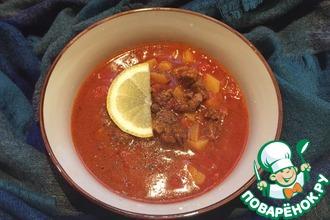 Рецепт: Наваристый альпийский суп-гуляш