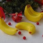 Подарочное пирожное Бананы