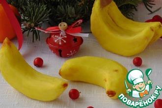 Рецепт: Подарочное пирожное Бананы