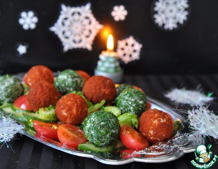 Рецепт: Овощной салат с сюрпризом