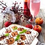 Яблочный пирог с шампанским Новогодняя сказка