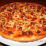 Пицца из картофельного теста