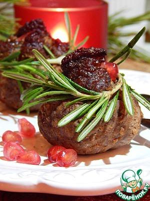 Рецепт Тушеная говядина с начинкой