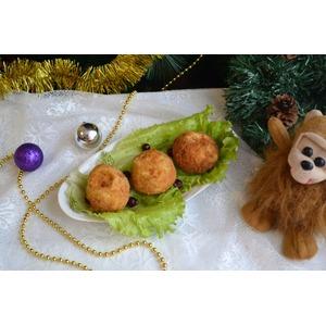 Крокеты картофельные Золотой шар с сюрпризом