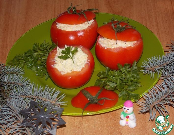 Рецепт: Закуска из помидоров