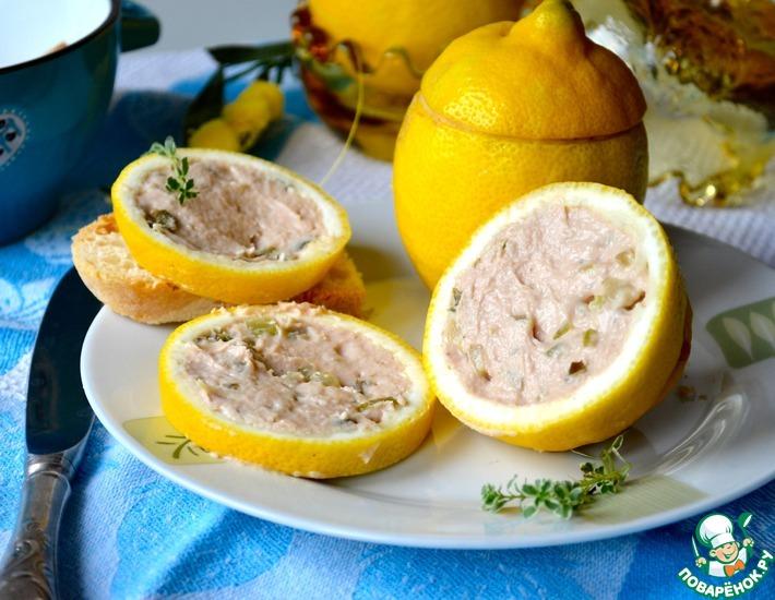 Рецепт: Закуска с тунцом