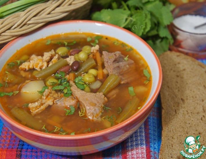 Рецепт: Старинный английский суп Стю