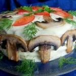 Бутербродный торт Для мужчин