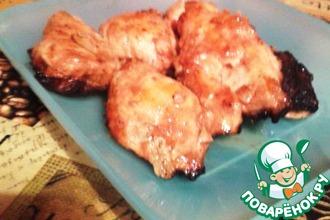 Рецепт: Куриное филе в томатно-яичном соусе