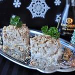 Салат из кальмаров с японской заправкой